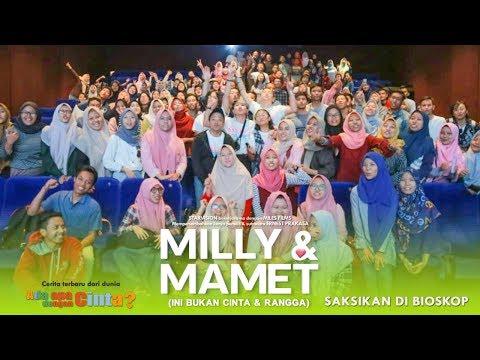 download lagu MILLY & MAMET (Ini Bukan Cinta & Rangga) - Nobar Di Royal 21 Surabaya & Media Visit gratis