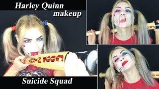 Игры для девочек харли квинн макияж