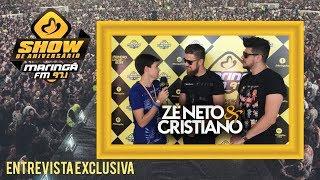 Zé Neto e Cristiano - Dupla fala da gravação do novo DVD ESQUECE O MUNDO LÁ FORA