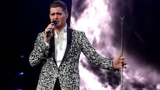 Michael Buble Video - Michael Bublé - Cry Me A River - Live @ Paris Bercy 11.01.2014 HD