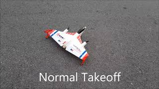 UNBOXING and test fly  XK X520 Fighter JET PLANE