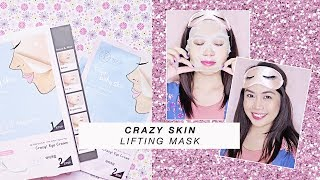 Fun Korean Face Mask: Crazy Skin Lifting Mask (GIVEAWAY) | Kim Mendoza