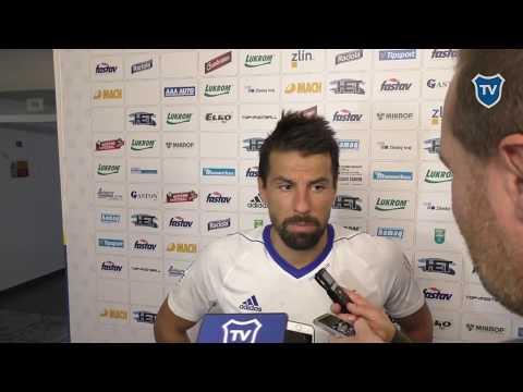 HET liga: Milan Baroš hodnotí utkání se Zlínem (2:0)