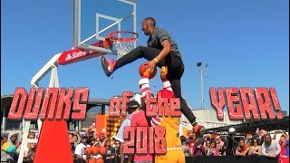 2018 BEST Dunks of the Year! AMAZING Dunks!!