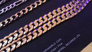 JACOJE Flat Curb Chain and Medium Hoop Review