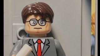 LEGO The Office Fire Drill