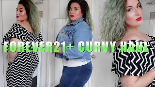 FOREVER 21+ CURVY PLUS SIZE HAUL & TRY ON | LoseitlikeLauren