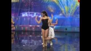 හැඟුම්බරයි....!! ඇදෙන සුළුයි...!!! Ukraine got talent - Duo flame