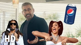 Pepsi: Steve Carell, Lil Jon and Cardi B in hilarious Super Bowl advert