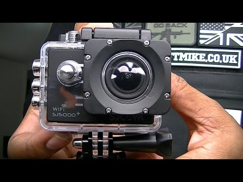 SJCAM SJ5000 PLUS WIFI UNBOXING REVIEW BY AIRSOFT MIKE / not GoPro
