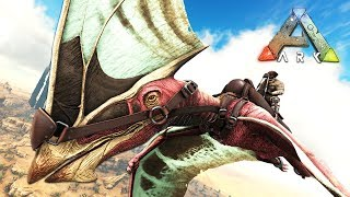 ARK: Survival Evolved - FASTEST DINOSAUR EVER!! (ARK Scorched Earth)