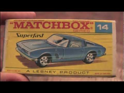 CGR Garage - ISO GRIFO Matchbox car review