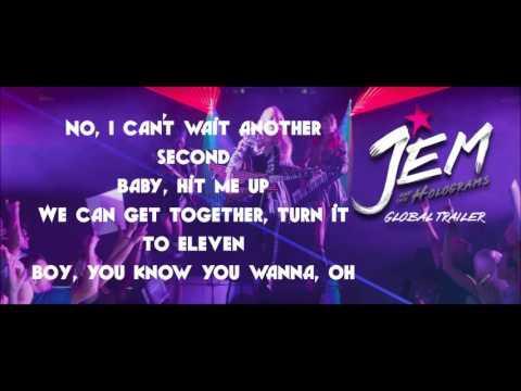 Jem and the Holagrams Hit me up Lyrics