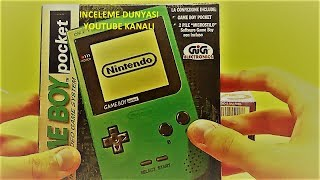 GameBoy Pocket ve Tetris İnceleme (Nostalji)