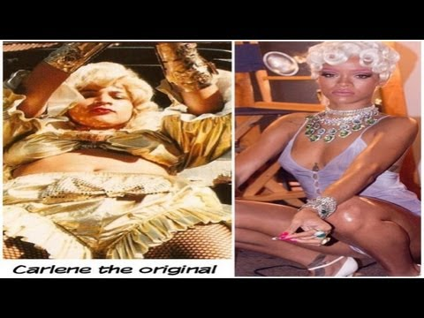 Rihanna Pour it Up Video Review | Identity Theft of Carlene + Patra + Lady Saw #Jamaica