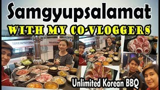 Samgyupsalamat Eat all you can Korean Barbeque  I ROBINSONS GALLERIA