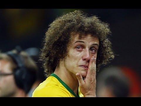 Brazil vs Germany Goal FIFA 2014 Semi Final (1-7) Brazil players crying  photos