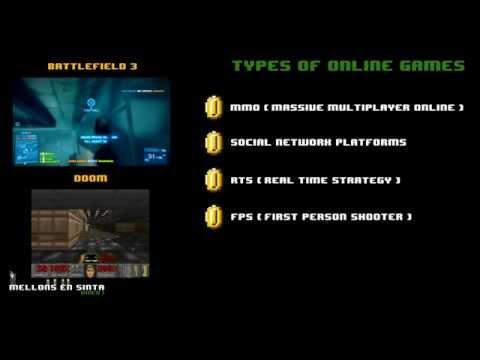 Mellons en' Sinta - WMP Part 1 - Types of Online Video Games