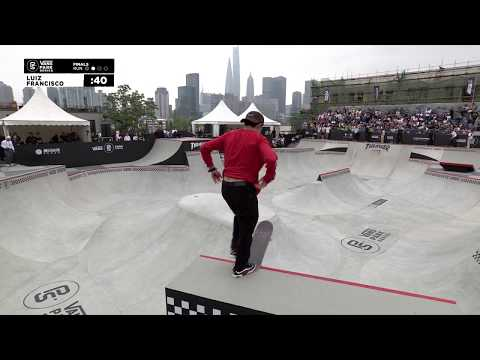 3rd Place - Luiz Francisco (BRA) 82.33 | Shanghai, CHI | 2019 Men's Pro Tour | Vans Park Series