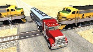 BeamNG.drive - Random Vehicle Crash Testing #15