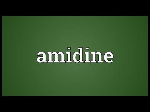 Header of amidine