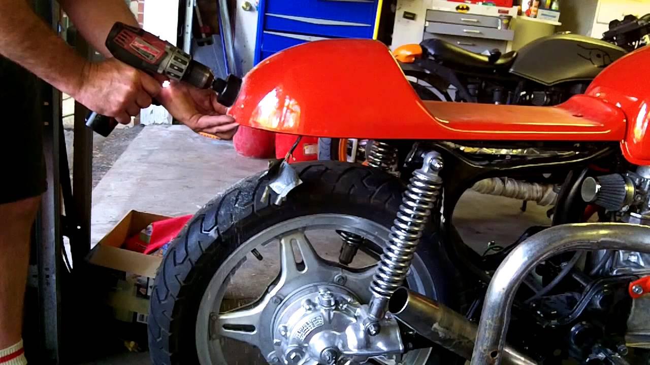 Cafe Racer Brake Light
