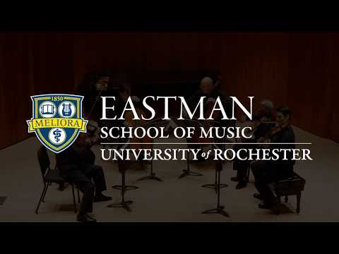 Guy Johnston recently appointed Associate Professor of Cello at the Eastman School of Music 2018