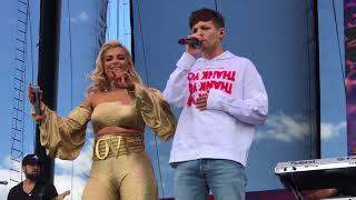 Download Lagu Louis Tomlinson and Bebe Rexha- Back to You at the iHeart Daytime Village in Las Vegas 9/23/17 Gratis STAFABAND
