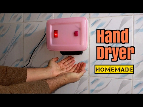 Самодельная сушилка для рук