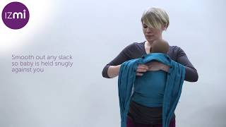 How to fit your Izmi Baby-Carrier in the Front Carry position