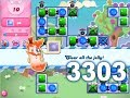 Download Candy Crush Saga Level 3303 (3 stars, No boosters) in Mp3, Mp4 and 3GP