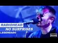 Radiohead - No Surprises - Legendado • [HD | BR | Live Jools Holland 2001]