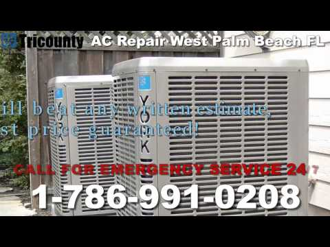 AC Repair West Palm Beach, FL - 1-786-991-0208 - AC Service Repair West Palm Beach Florida