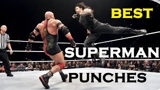 Roman Reigns' Best Superman Punches, 2017 HD