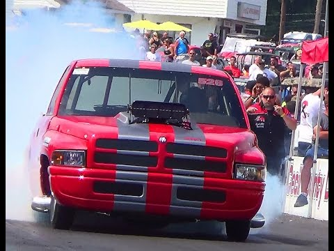 Bad Ass dodge ram 4.24 10.5 roots  Cecil record YB NATS 14