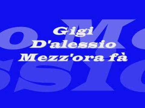Gigi D'alessio -mezz'ora Fa video