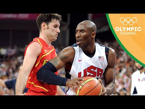 2012 Olympics Final Usa Spain Kobe Lebron Durant 66 Pts Vs Pau Marc Navarro 62