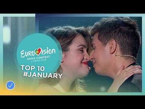 TOP 10: Most watched in January 2018 - Eurovision Song Contest