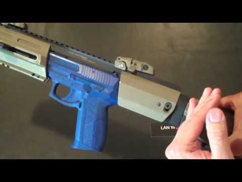 LAN World. Inc. Presents  HERA-ARMS Triarii Pistol Conversion Stock