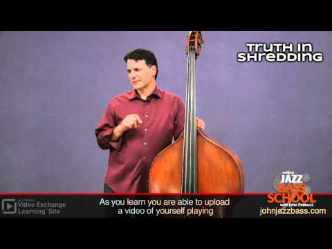 John Patitucci:  ArtistWorks Learn bass from the best