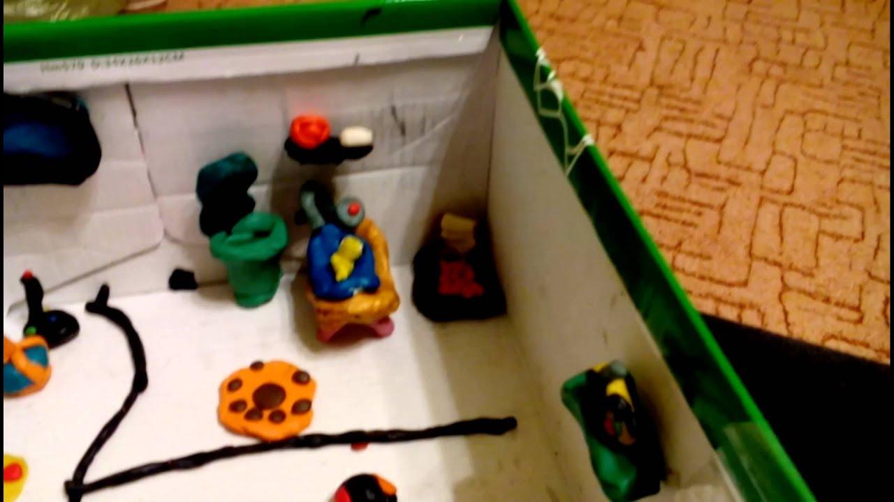 Как сделать домик для мяусим