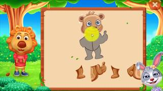 Kids games - Shape puzzle - Video for kids