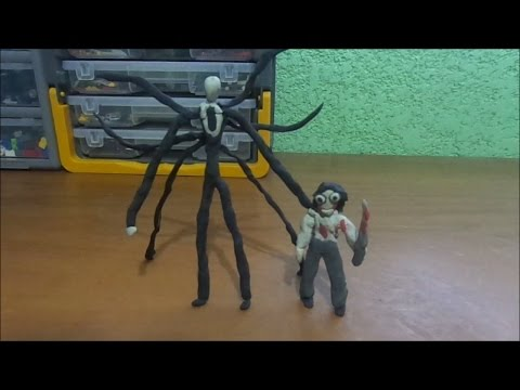 Reto plastilina (14) Slenderman y Jeff the Killer (Mr :P)