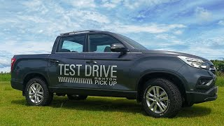2019 SSANGYONG REXTON (MUSSO) DOBLE CABINA 4X4 QUICK LOOK