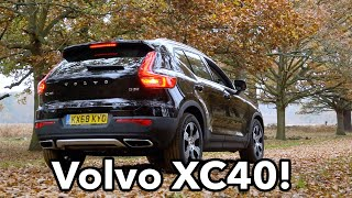 Volvo XC40's Junk In The Trunk!