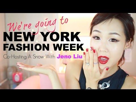 ANNOUNCEMENT: New York Fashion Week! ♥ #FashionFrontrunners with Jeno Liu