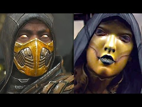 Mortal Kombat X Gameplay 13 Minutes scorpion Vs D'vorah Fatalities  - Mortal Kombat 10 (e3 2014) video