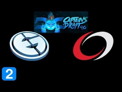 EG vs coL Game 2  Captain's Draft 4 Highlights Dota 2