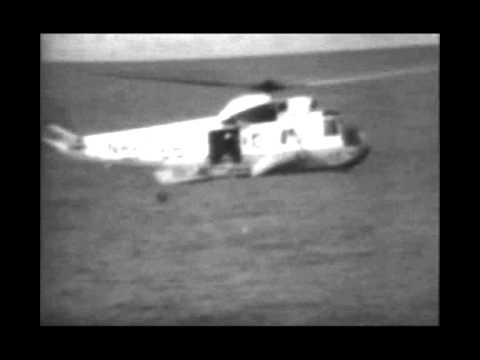 APOLLO 13 - all BBC's TV original reentry &amp; splashdown footage - part 5 of 5