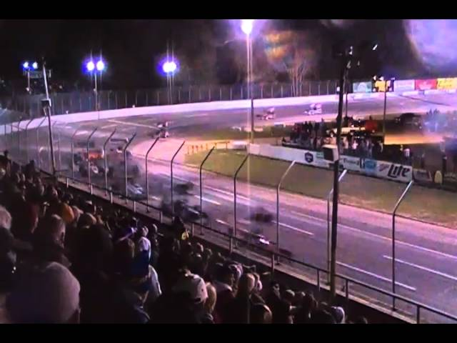 ISMA Dion Parish Memorial Supermodifieds @Berlin Raceway 9.25.10 Feature pt2